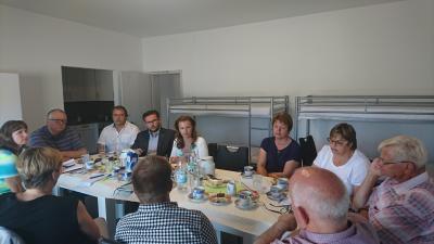 Foto zur Meldung: Beratung mit Jana Schimke zum Thema Saison-Arbeitskräfte