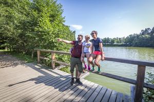 Vorschaubild zur Meldung: Das Oberpfälzer Seenland wandert wieder - Oberpfälzer Seenland-Wanderwoche von 29. September bis 7. Oktober 2018