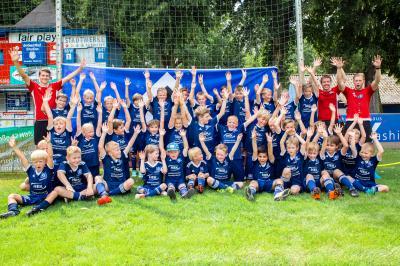 Foto zur Meldung: HSV Fussballschule 2018 - Bilder ONLINE - Feriencamp 30.07. - 03.08.18