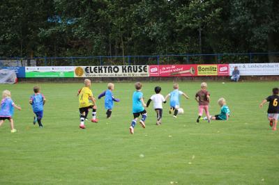 Foto zur Meldung: G-Jugend - Training gestartet