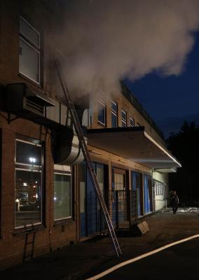 Vorschaubild zur Meldung: Alarmübung - altes Postgebäude