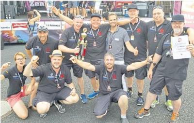 Foto zur Meldung: Aartal BBQ Crew grillt sich auf Spitzenplätze