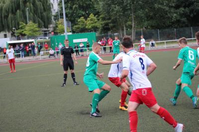 Foto zur Meldung: + + + Fußball Landesliga West 2. Spieltag + + +