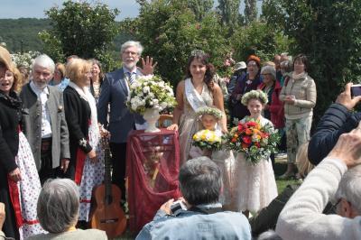 Foto zur Meldung: Kongress der GRF: 150 Jahre Rosenzucht in Steinfurth