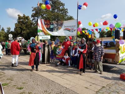 Foto zu Meldung: Pritzwalk und Umgebung beim Brandenburg-Tag gut vertreten