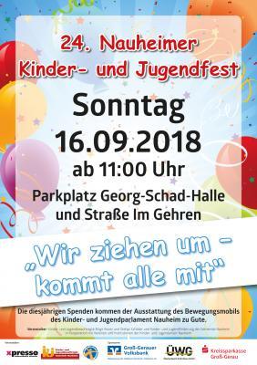 Nauheimer Kinder- und Jugendfest am 16.09.2018