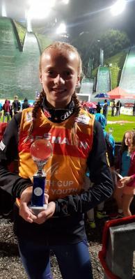 Foto zur Meldung: Cindy gewinnt den FIS Jugend Grand-Prix