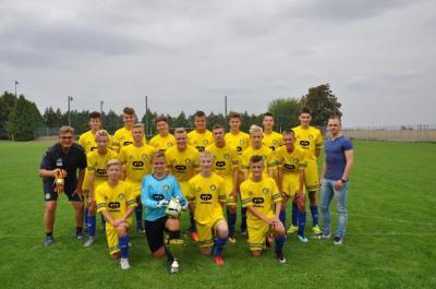 Foto zur Meldung: Ehrung Kreismeister C-Junioren Saison 2017/2018