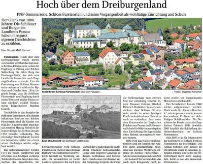 Vorschaubild zur Meldung: Hoch über dem Dreiburgenland