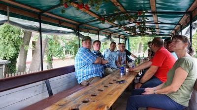 Foto zur Meldung: Erstes Junglandwirte-Treffen in Kemlitz