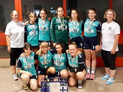 Foto zur Meldung: C-Jugend gewinnt das CHC-Turnier