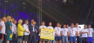 Siegerehrung beim Pokal der Landräte und Bürgermeister I Foto: Petra Hagemann