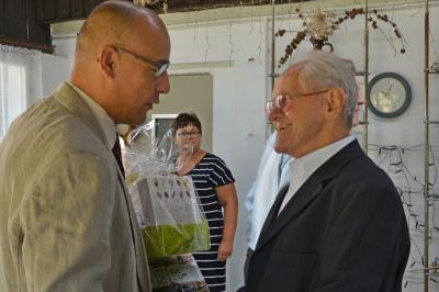 Foto zu Meldung: Glückwünsche zum 90. Geburtstag an Heiner Mißfeld