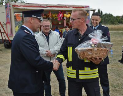 Foto zu Meldung: Kemnitz feierte mit einem Dorffest 85 Jahre Ortsfeuerwehr