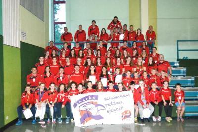 Foto zur Meldung: Landesmeisterschaften im Rettungsschwimmen in Betzdorf-Kirchen