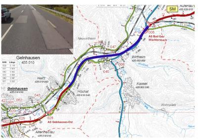 Foto zu Meldung: Vollsperrung der Auffahrtsrampe an der Anschlussstelle Bad Orb/ Wächtersbach (A 66) in Fahrtrichtung Frankfurt wird planmäßig aufgehoben