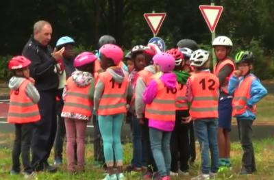 Klasse 4b - Radfahrausbildung