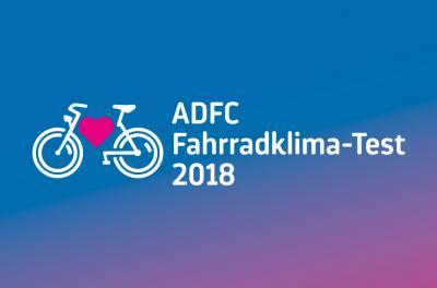 Vorschaubild zur Meldung: ADFC-Fahrradklima-Test 2018