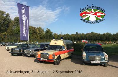 Der MB/8 Club Deutschland e.V. bei der Classic Gala 2018 in Schwetzingen