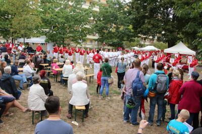 Foto zur Meldung: 2. Sportfest am Schlaatz gefeiert