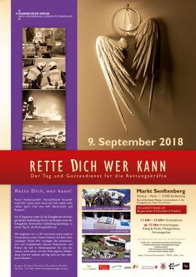 """Foto zur Meldung: """"Rette dich wer kann"""" - Der Tag und Gottesdienst für Rettungskräfte am 09.09.2018"""