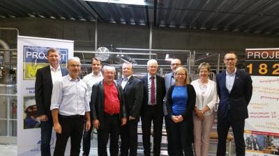 Foto zur Meldung: Leistungszentrum Lausitz zu Besuch in Antwerpen