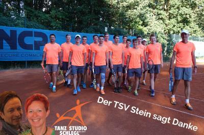 Vorschaubild zur Meldung: Tennis: Sponsoring Tanzstudio Schlegl