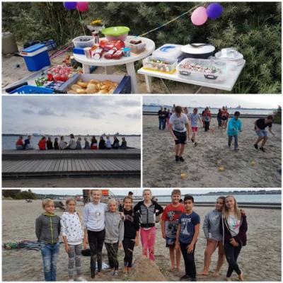 Foto zur Meldung: Strandfest der Klasse 7d