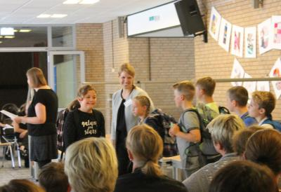 Foto zur Meldung: Einschulung der neuen 5. Klassen