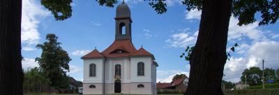Die Gutskapelle Reuden. Foto: Stadt Calau