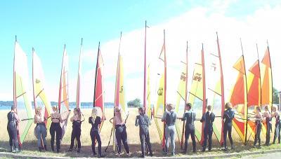 Foto zur Meldung: Windsurfen an der EKS
