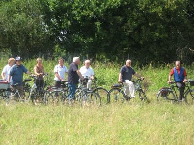 Die sechste Radtour der Seniorenradler in 2018 hat am 27. September die Seen- und Auenlandschaft an der Kinzig zum Ziel.