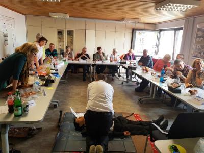 Maintal Aktiv – Freiwilligenagentur bietet in Kooperation mit dem Deutschen Roten Kreuz einen Erste-Hilfe-Kurs für Engagierte an