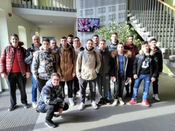 Vorschaubild zur Meldung: Weiterbildung von Schülern und Lehrkräften aus den Bereichen Maschinenbau und Elektrotechnik aus Griechenland im Jahr 2018
