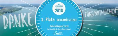 Foto zur Meldung: Online-Abstimmung: Scharmützelsee ist Deutschlands beliebtester See