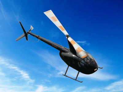 Foto zur Meldung: Hubschrauberrundflüge anlässlich des Genthiner Kartoffelfestes