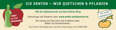 Vorschaubild zur Meldung: Mobile Saftpresse