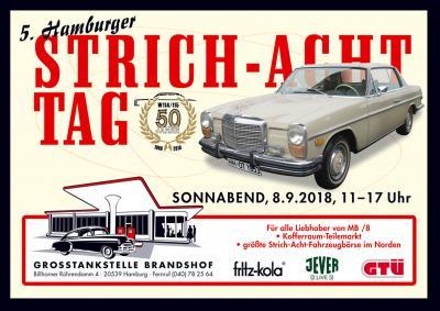 Das Motiv zum 5. Hamburger Strichacht Tag !