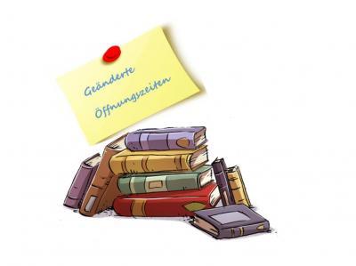 Vorschaubild zur Meldung: Herbstferien 2018: Geänderte Öffnungszeiten in der Gemeindebücherei