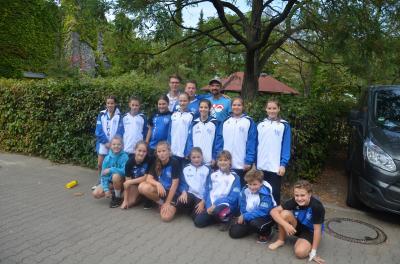 Foto zur Meldung: D1-Jugend beim SparkassenCup/Füchse-Turnier 2018 in Berlin
