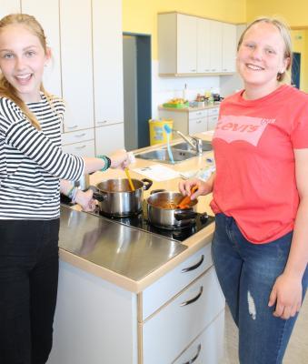 Foto zur Meldung: Koch Projekt an der EKS