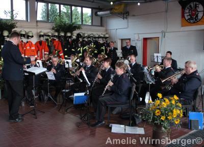 Foto zur Meldung: Grillabend und 50 Jahre Feuerwehrmusikzug Bispingen