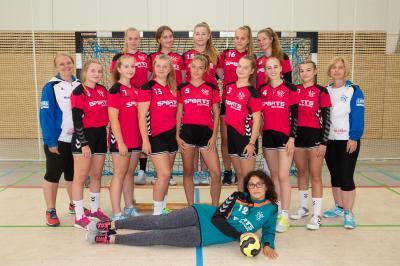 Foto zur Meldung: B-Jugend startete mit einem Auswärtsspiel beim HSV Oberhavel in die Saison 2018/2019