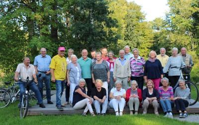 Foto zur Meldung: Schafflunder Fahrradgruppe feiert 30-jähriges Bestehen