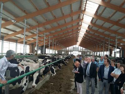 Vorschaubild zur Meldung: Treffen des Bauernverbandes Südbrandenburg mit dem Landrat