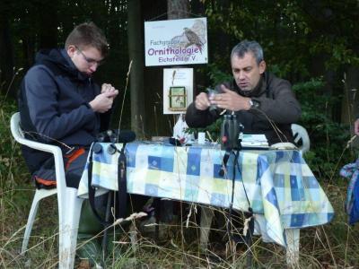 Foto zur Meldung: Vogelfangtag Reifenstein