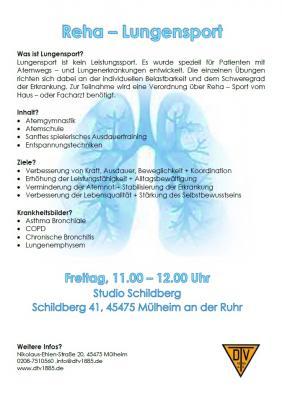 Vorschaubild zur Meldung: Reha Lungensport