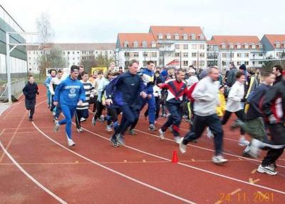 Foto zur Meldung: 1. Lauf der Paarlaufserie 2001/02