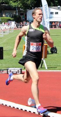 Foto zur Meldung: Benedikt Nolte gewinnt 1.500m in Bergisch Gladbach