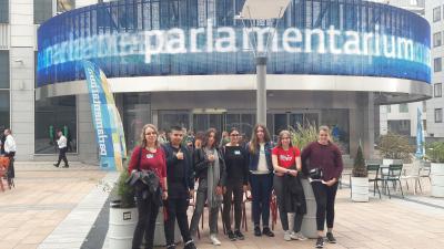 Vorschaubild zur Meldung: VIP im Europaparlament